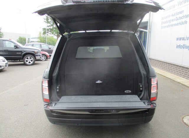 Armored Range Rover Autobiography full