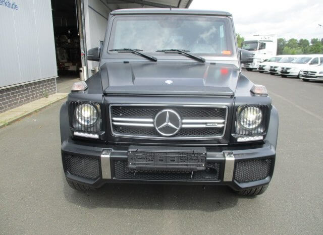 Armored Mercedes Benz G63 AMG full