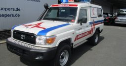 2015 Armored Toyota Land Cruiser 78 Ambulance