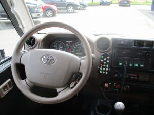 TAG 2015 Armored Toyota Land Cruiser 78 Ambulance Steering Wheel