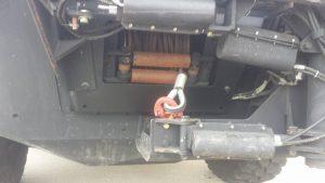 TAG 2008 GPV 6 x 6 Marshall Hatch Rope Pull Motor