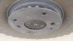 TAG 2008 GPV 6 x 6 Marshall Tire Wheel Rims