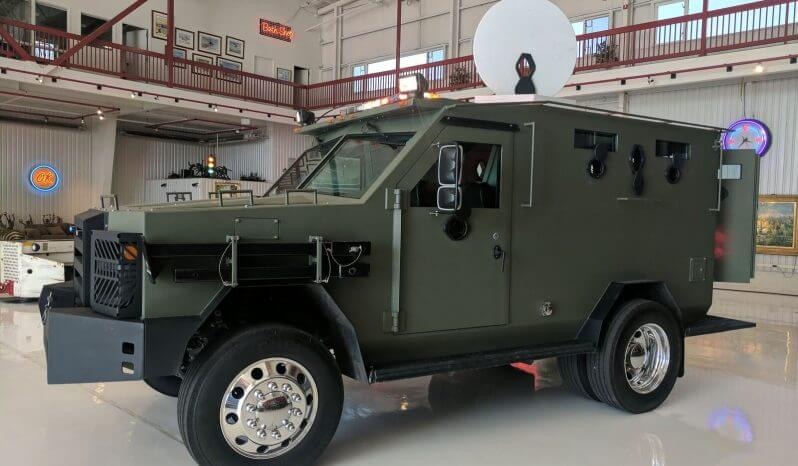TAG 2009 Ford F550 Armored BATT S Side View