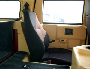 TAG Armored Asian Hummer Warrior Seats