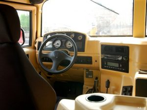 TAG Armored Asian Hummer Warrior Steering Wheel Center Console