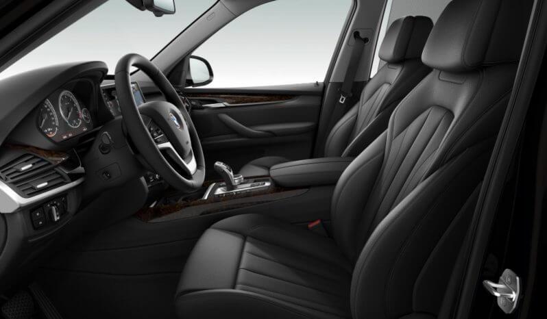 Interior of BMW X5 passenger protection vehicle