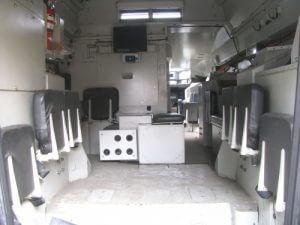 2008 GPV 6 x 6 Marshall Back Interior