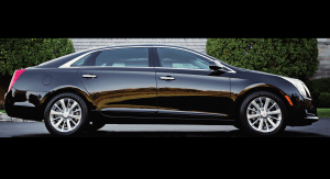 TAG Picture of armored Cadillac XTS sedan with 7-inch stretch
