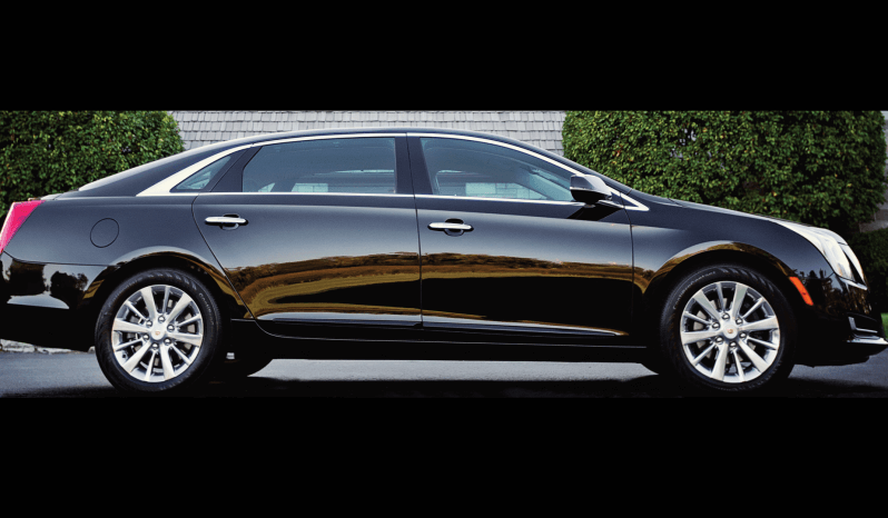 Picture of armored Cadillac XTS sedan with 7-inch stretch