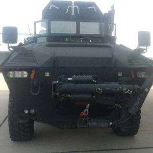2008 GPV 6 x 6 Marshall Front