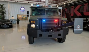 Emergency lighting system on pre-owned 2009 bulletproof Ford BATT S personnel carrier