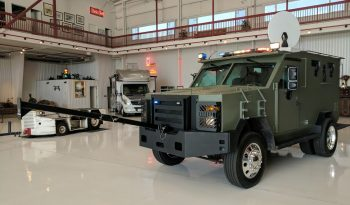 2009 Ford F550 Armored BATT S Front View Extensions Attached