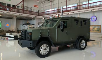 2009 Ford F550 Armored BATT S Side View