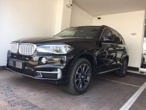TAG 2015 Armored BMW X5 Front Corner View