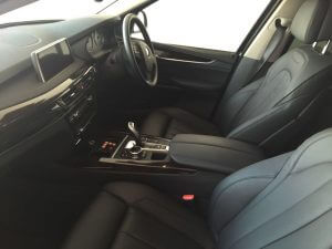 TAG 2015 Armored BMW X5 Interior of pre-owned 2015 bulletproof BMW X5 SUV