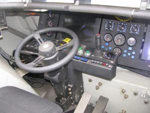 2008 GPV 6 x 6 Marshall Interior Steering Wheel