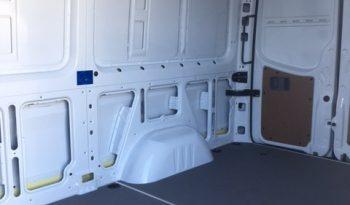 Interior of bulletproof Mercedes-Benz Sprinter cash-in-transit van