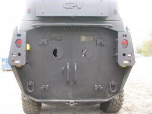 2008 GPV 6 x 6 Marshall Rear Michigan State Police