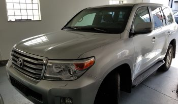 Silver armored 2016 Toyota Land Cruiser (TLC) 200 picture
