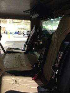 TAG 2010 Armored Copperhead Seats