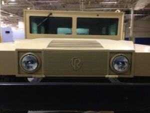 TAG 2010 Armored Copperhead Front Grille View