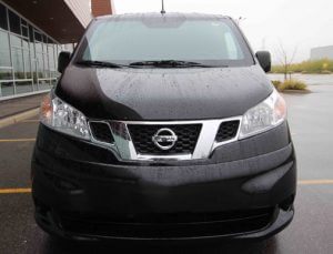 TAG Armored Nissan NV 200 Front View