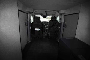 TAG Armored Nissan NV 200 Interior Seats View