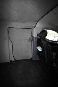 TAG Armored Nissan NV 200 Interior