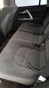 TAG Armored Nissan NV 200 Backseats