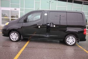 TAG Armored Nissan NV 200 Side View