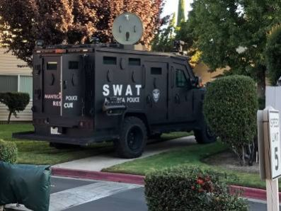 The Armored Group SWAT Vehicle Used in Manteca, California, Standoff