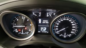 TAG 2016 Toyota Land Cruiser (TLC) 200 Odometer Dashboard