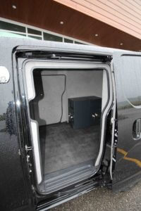 TAG Armored Nissan NV 200 Opposite Side Doors