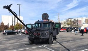 Potter County's New 'Peacemaker' Help Protect Deputies During Dangerous Situations Armored TAG Truck