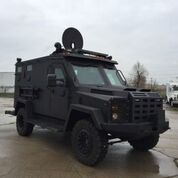 Blue pre-owned armored 2008 Armored BATT B6 picture