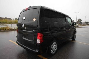 TAG Armored Nissan NV 200 Right Rear