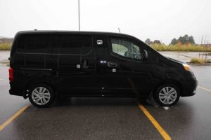 TAG Armored Nissan NV 200 Right Side