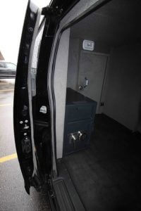 TAG Armored Nissan NV 200 Side Door