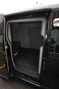 TAG Armored Nissan NV 200 Side Door Opening