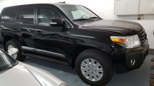 TAG 2014 Armored Toyota Land Cruiser (TLC) 200 Side View