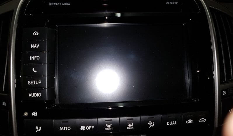 TAG 2014 Armored Toyota Land Cruiser (TLC) 200 Navigation Screen