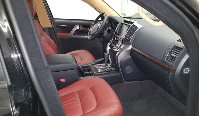 TAG 2014 Armored Toyota Land Cruiser (TLC) 200 Passenger Front Seats View