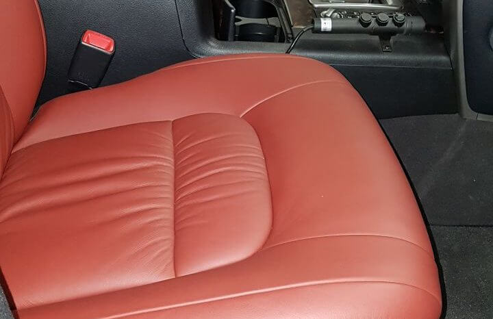 TAG 2014 Armored Toyota Land Cruiser (TLC) 200 Red Passenger Seat