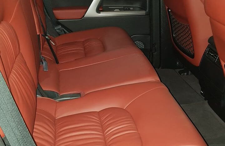 TAG 2014 Armored Toyota Land Cruiser (TLC) 200 Backseats Red
