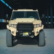 The Armored Group Introduces its Newest Vehicle, The Terrier LT-79 Front