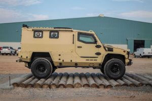 The Armored Group Introduces its Newest Vehicle, The Terrier LT-79 Side