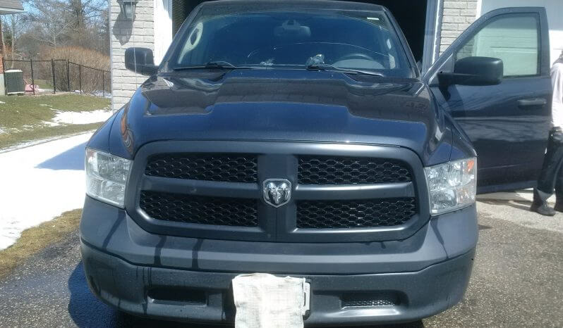 TAG 2015 Armored Dodge Ram Front Driver Door Open