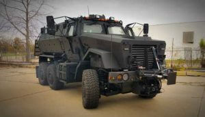 TAG Armored Truck Six Wheeler
