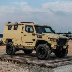 TAG Armored Truck Outdoors Khaki Color