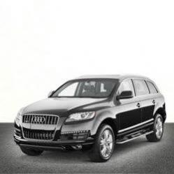 TAG Audi SUV Black Front Corner
